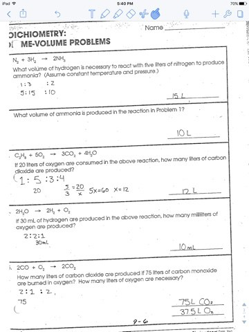 stoichiometry problems and answers pdf