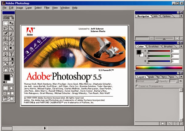 adobe photoshop 5.5 2010 г