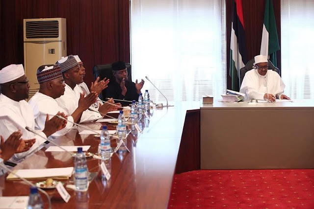 Full text of President Buhari's speech at signing of 2016 Budget