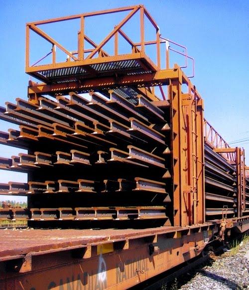 Trackside Treasure: CN Continuous Welded Rail Train
