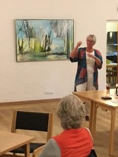 Eva Lindegaard fortæller