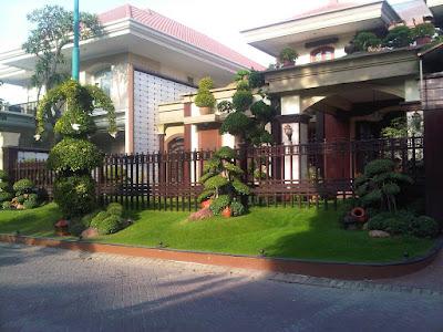 Gambar Taman Depan Rumah Tanpa Pagar