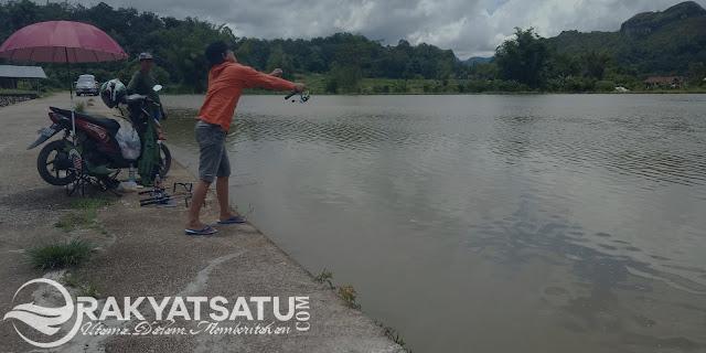 Di Toraja, Tempat ini Digilai Para Pemancing yang Suka Ikan Besar
