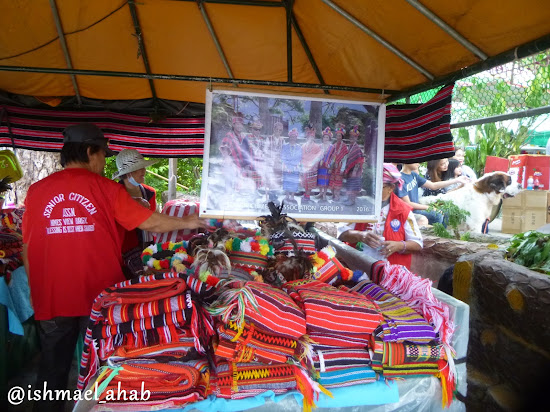 Igorot cloth in Mines View Park of Baguio City