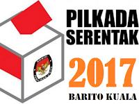 Hasil Pengundian Nomor Urut Paslon Bupati-Wakil Bupati Barito Kuala