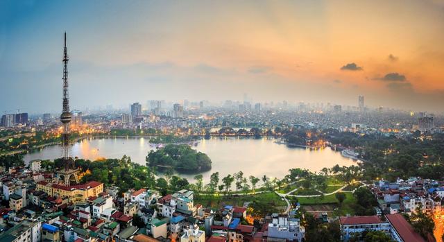 View hồ Hoàn Kiếm