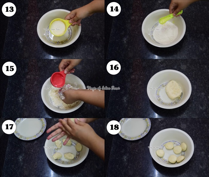 Surti Ghari (Dry Fruits Flavour) Recipe - सुरति घारी (केसर, बादाम, पिस्ता वाली) रेसिपी - Priya R - Magic of Indian Rasoi