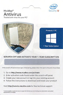 Amazon Sale : Buy McAfee Antivirus For 1 Pc 1 Year At Rs.99 Only