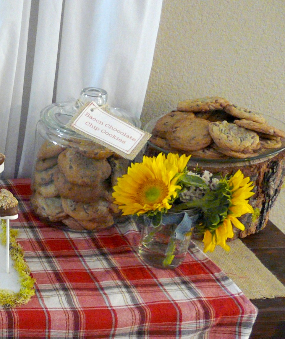 Life With The Crazies: Lumberjack And Jill Wedding Shower