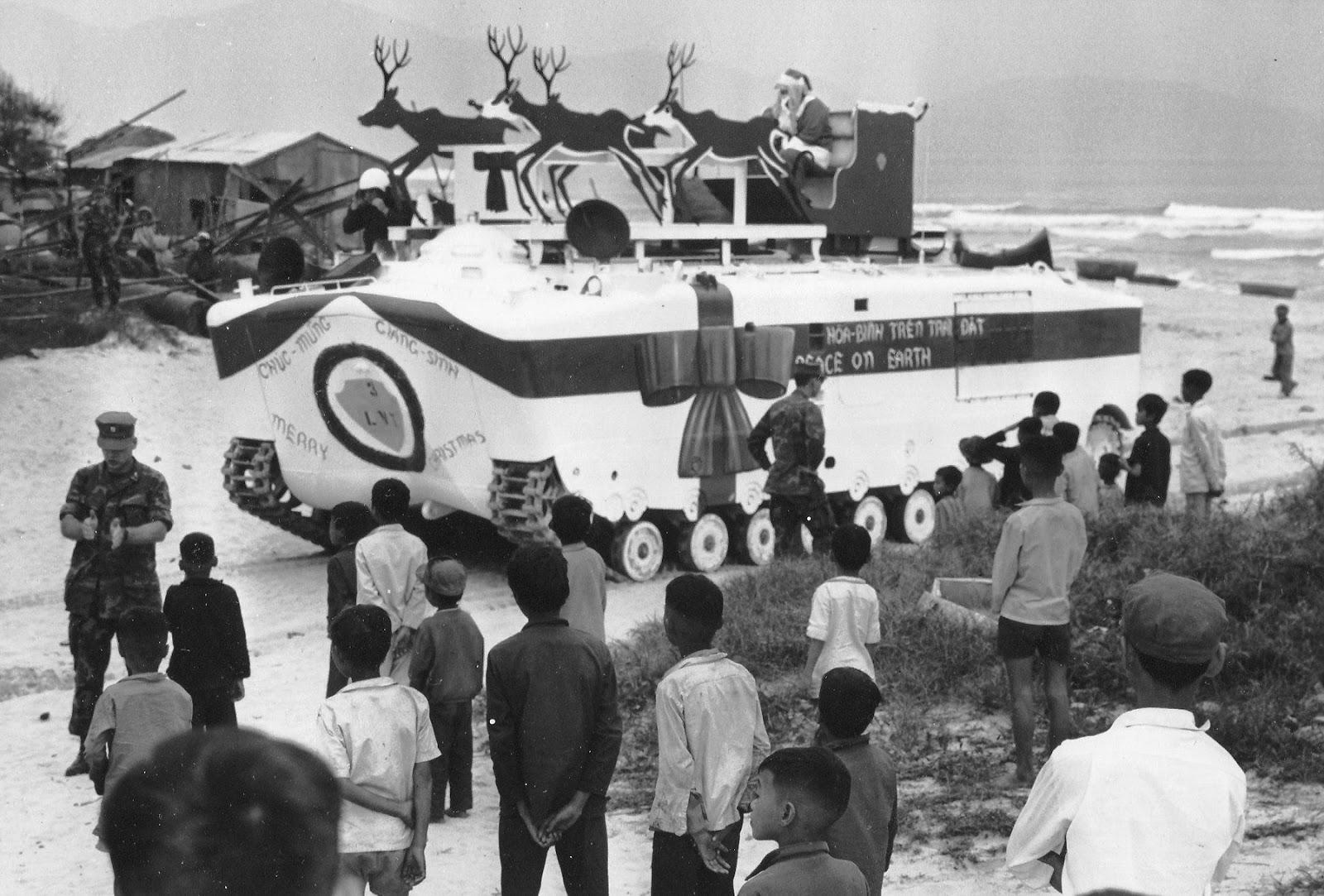 Amphibious Tractors