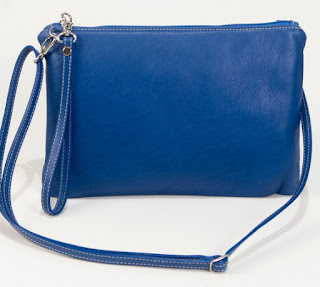 Clutch Bags Online-Blue Clutch Cari