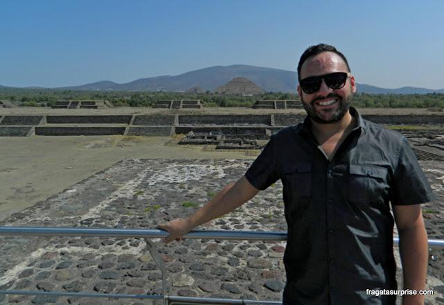 Francisco Paco Baca, historiador e guia turístico no México
