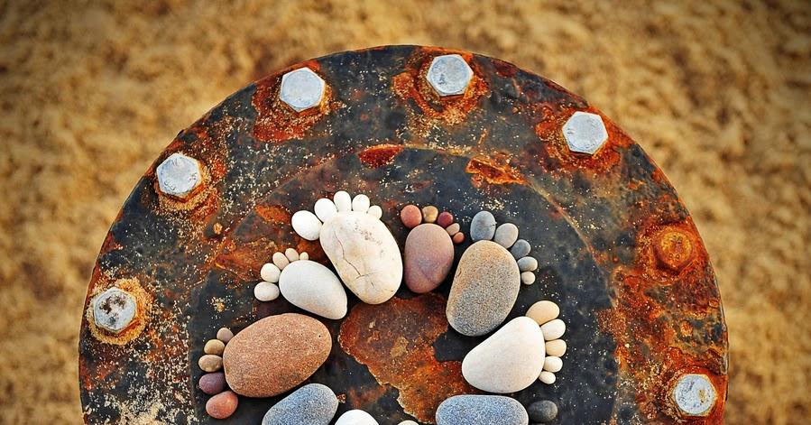 Recicla Inventa Piedras originales piedras pintadas