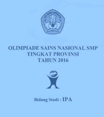 Download SOAL OSP IPA SMP Tahun 2016