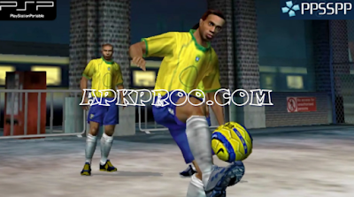Download FIFA Street 2 ISO/CSO Save Data PSP PPSSPP High Compress For Android