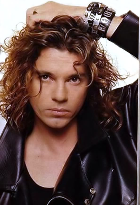 Michael Hutchence HairStyles