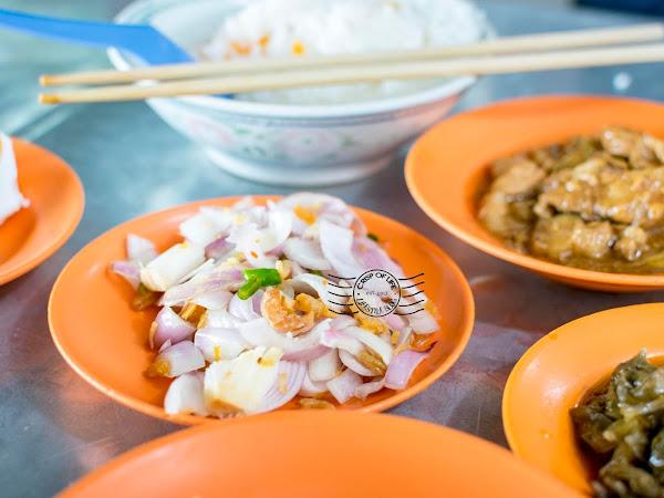 The Hidden Teochew Porridge Stall @ Hutton Lane, Georgetown, Penang
