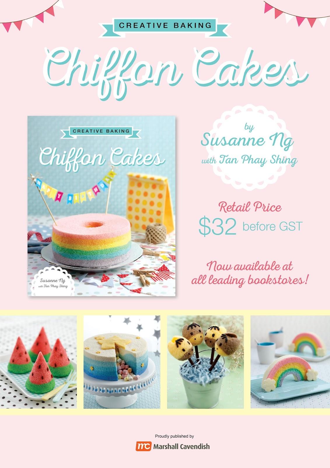 Susanne Ng Chiffon Cake Book