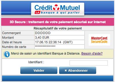 C Est Pas Mon Idee Le Credit Mutuel Veut Tuer Le Paiement En Ligne