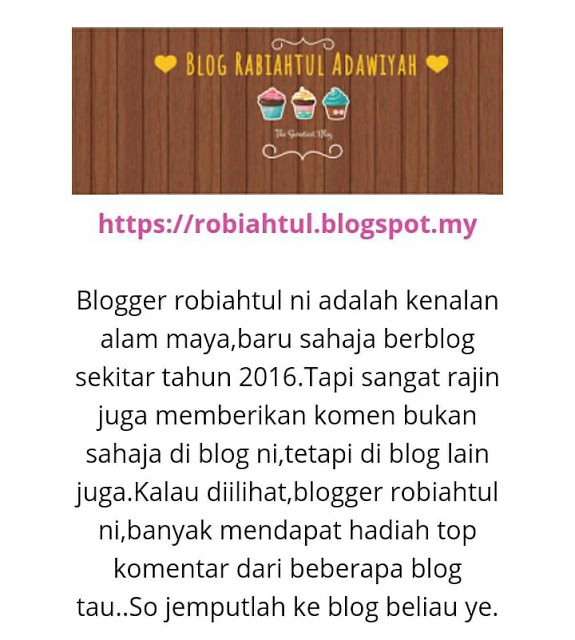 Blogger review my blog