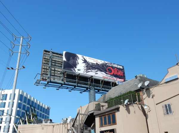 Outcast TV series billboard