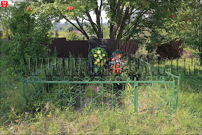 Могила погибших в Великую отечественную войну