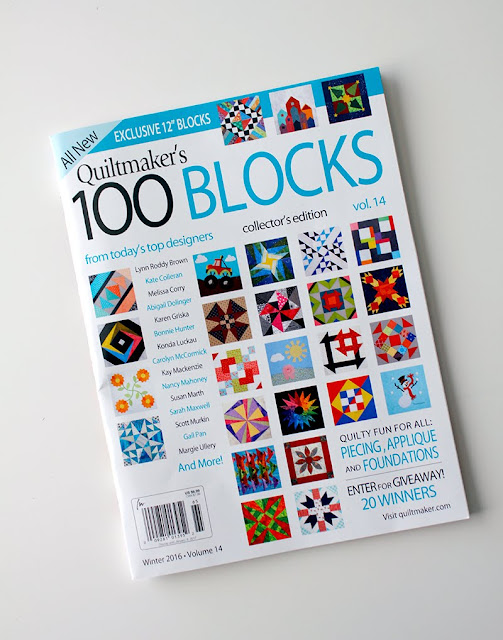 Quiltmaker's 100 Blocks volume 14