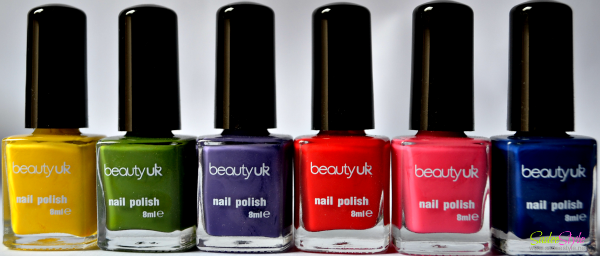 Beauty UK Nail Polish Set Wild Child with All six funky shades