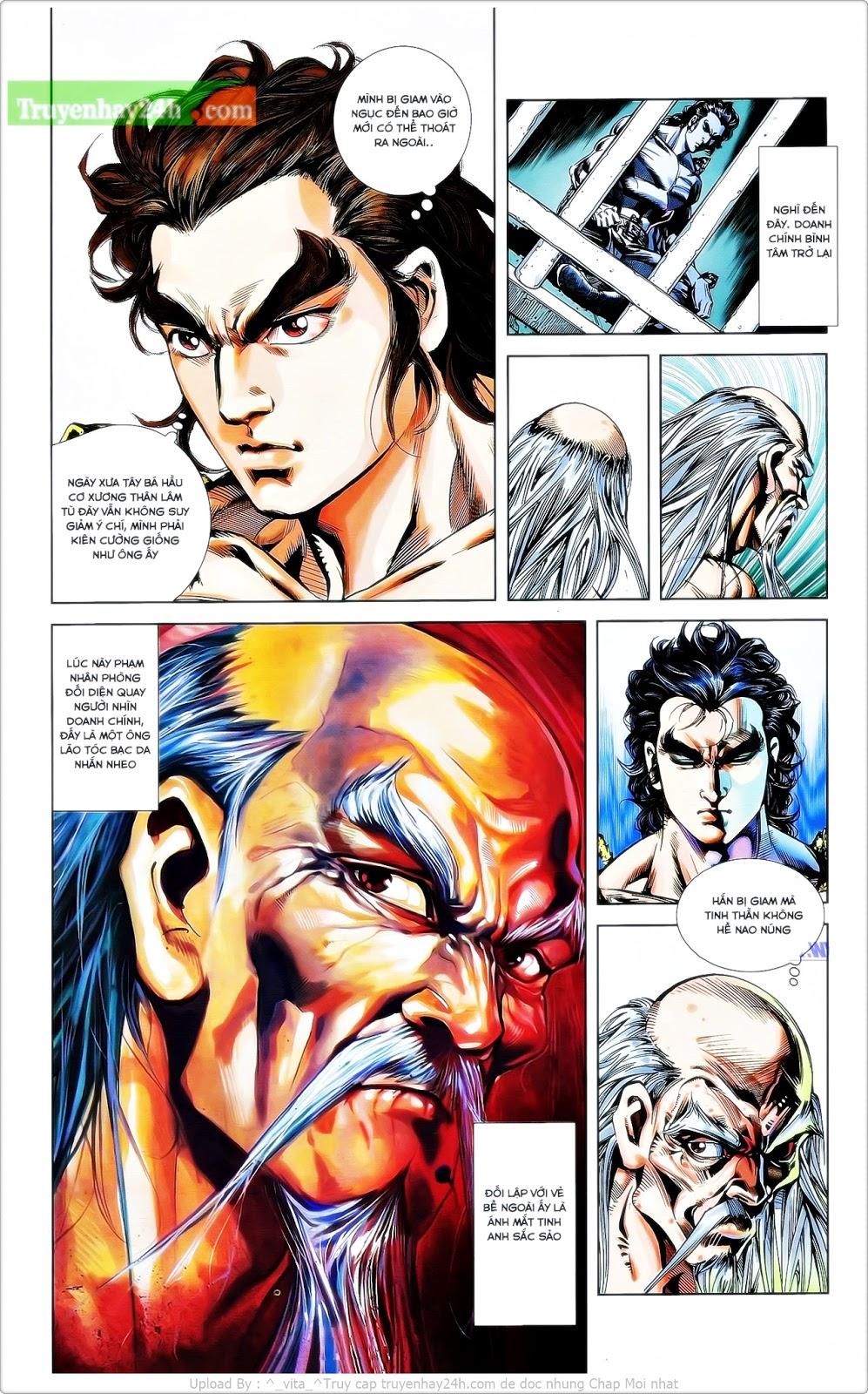 Tần Vương Doanh Chính chapter 24 trang 21