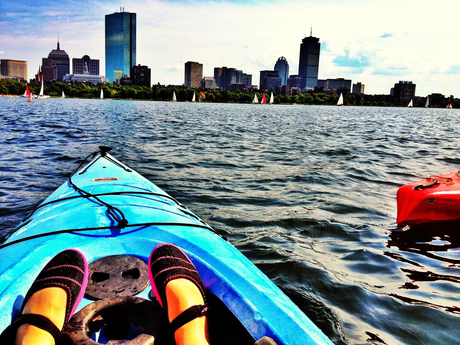 Summer Kayaking on the Charles!