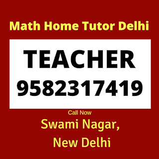 Mathematics Home Tutor in Swami Nagar, Delhi.