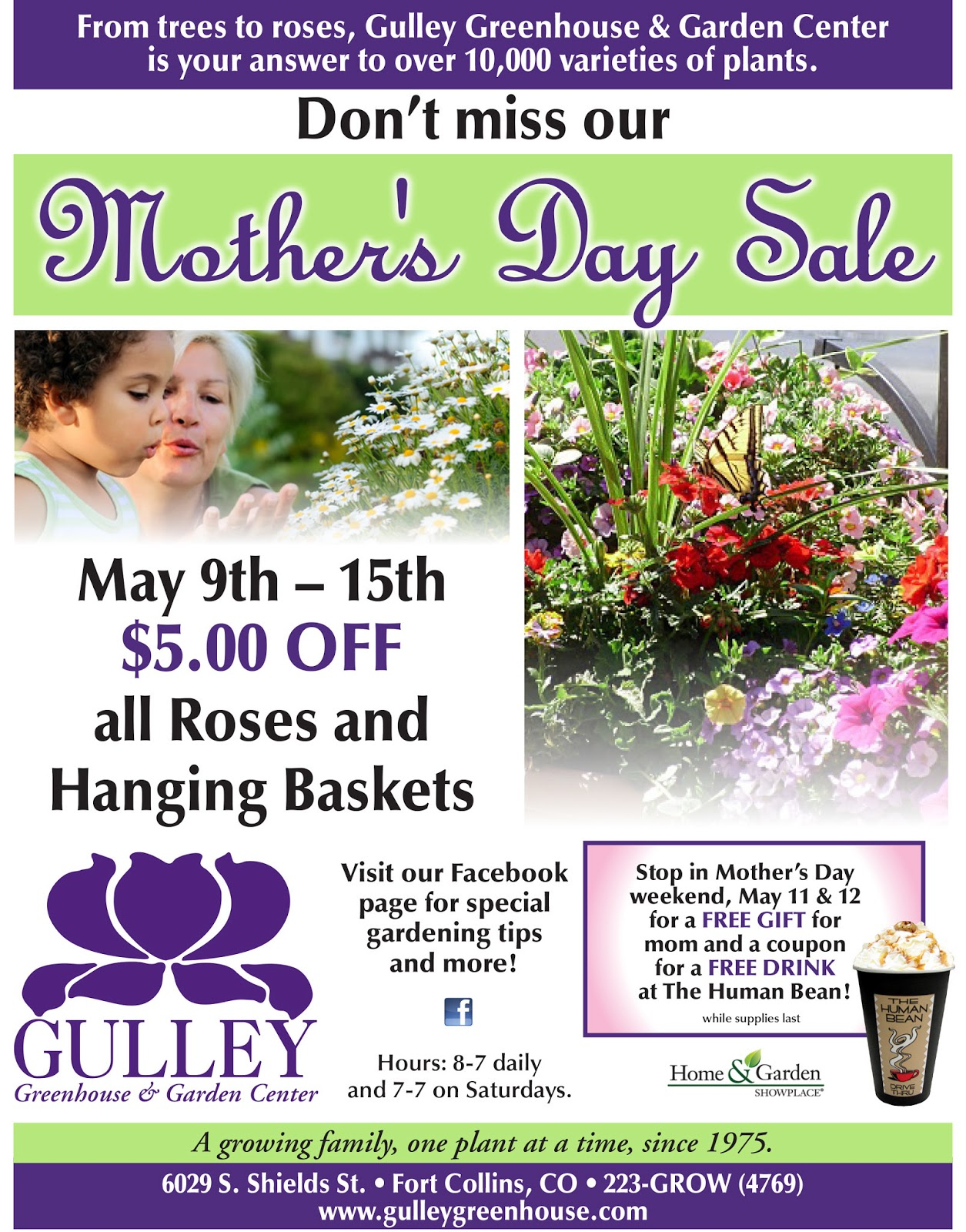 Gulley Greenhouse Don T Miss Mother S Day With Gulley Greenhouse
