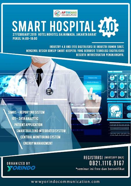 Kami hadir di Smart Hospital 27 Feb 2019