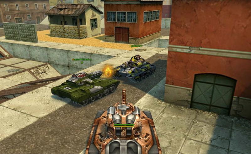игра танки онлайн играть бесплатно