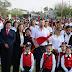 Celebran 24 de Febrero Día de la Bandera.