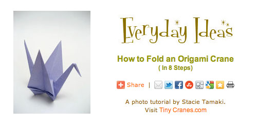 Origami Crane - How to Make the Paper Crane - Only Folding - YouTube | 245x498