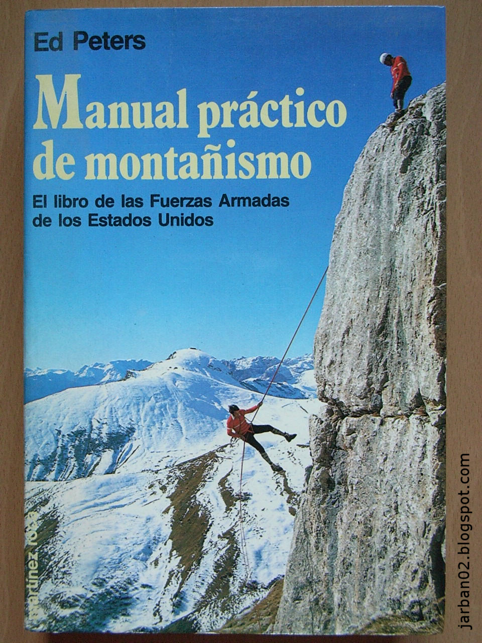 jarban02_pic054: Manual práctico de montañismo de The Mountaineers of Seattle (Edición de Ed Peters)