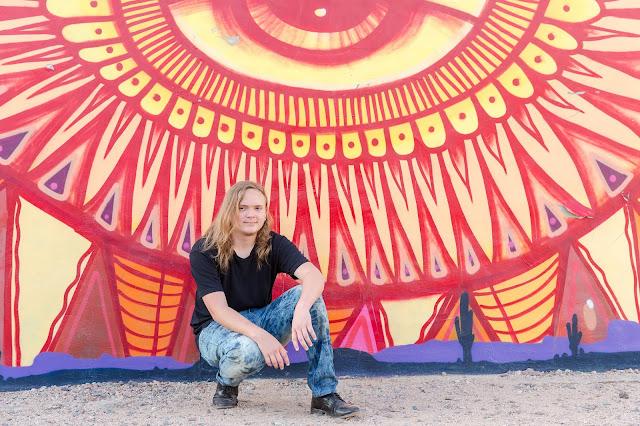 Senior Session Photography at Roosevelt Row in Phoenix AZ