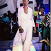 Bread seller on point! Photo of Olajumoke on the runway.