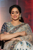 Sri Devi in designer saree stunning beauty at the launch of MOM movie Trailer~  Exclusive 096.JPG