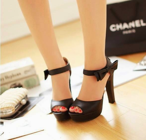 New Designs Of Western High Heels For Girls From 2014 15
