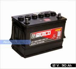 mutlu akü ağır hizmet serisi 12 volt 90 amper