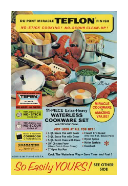 dupont non stick cookware vintage ad
