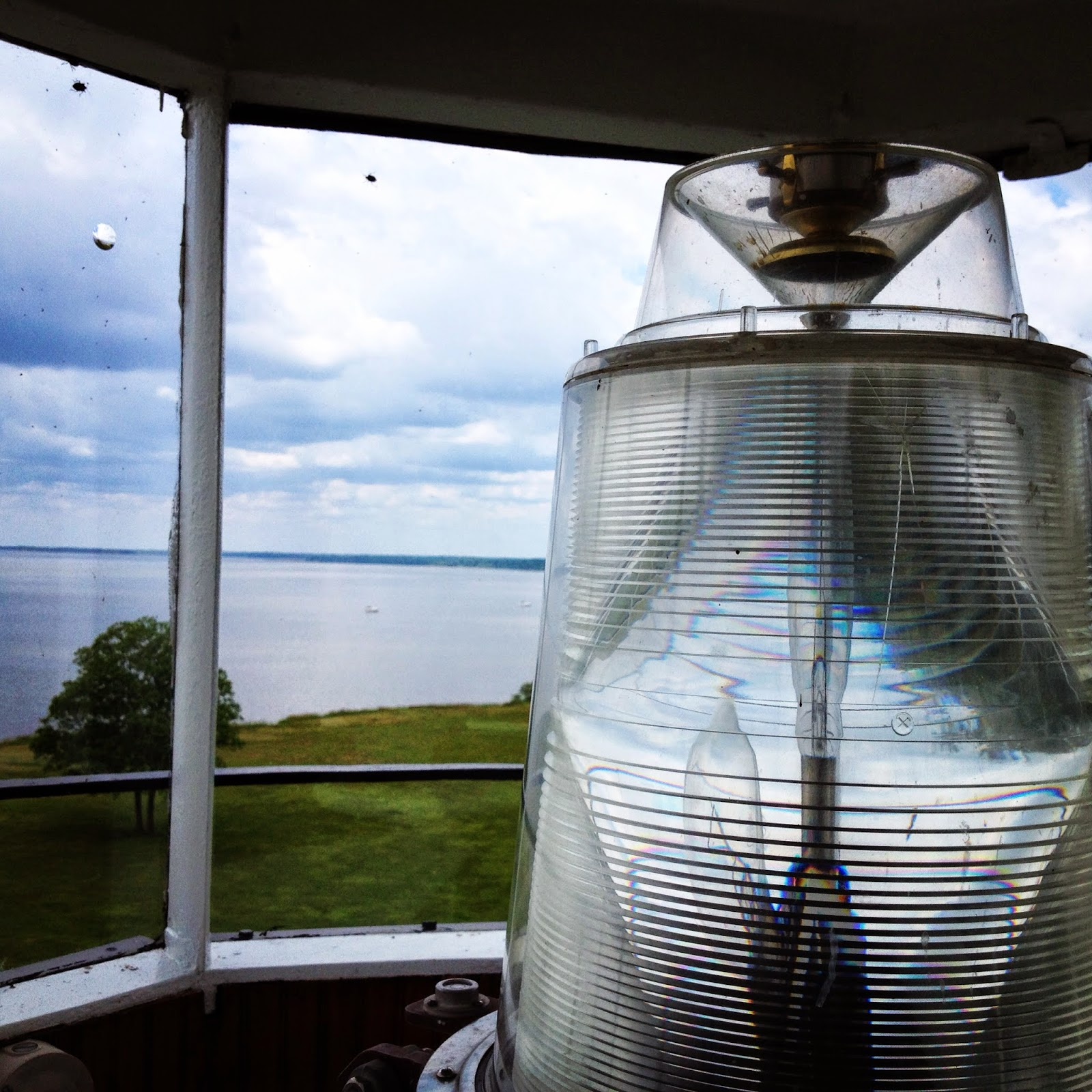 Inside the Lighthouse at Turkey Point