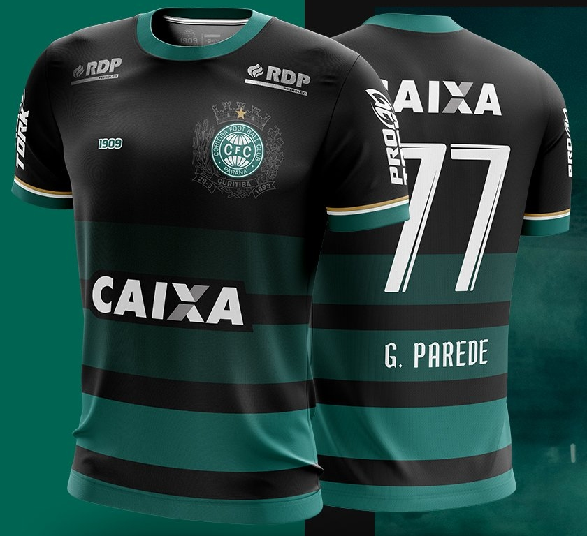 1909 lança a nova terceira camisa do Coritiba - Show de Camisas 772b2e3818d69