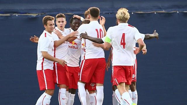Youth League: Salzburger U19 überrollt FK Vardar