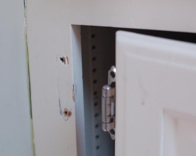 Stripped Screw Kitchen Cabinet
