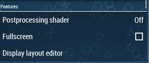 Setting shader