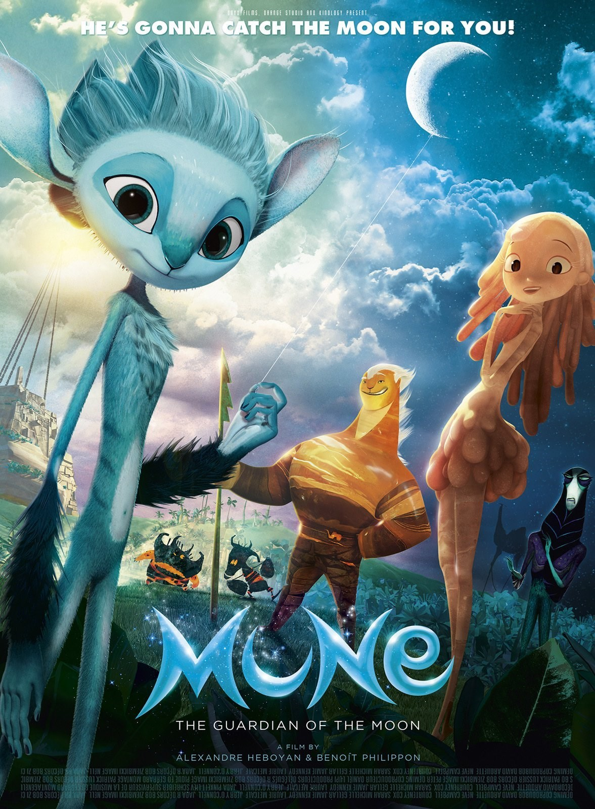 Nonton Film Mune: Guardian of the Moon (2014)
