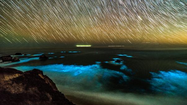 """""""Μια θάλασσα από αστέρια"""" στη Καλιφόρνια"""